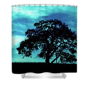 Lone Oak Shower Curtain
