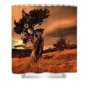 Lone Pine Whaleback Ridge Shower Curtain