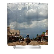 Lone Rider Shower Curtain