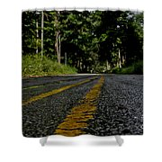 Lone Road Shower Curtain