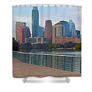 Lone Star State Capitol Ahead Shower Curtain