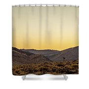 Loneliness At Sunrise Shower Curtain