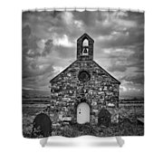 Lonely Chapel Shower Curtain
