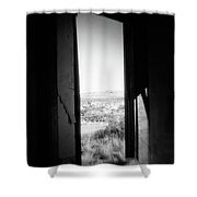 Lonely Church Shower Curtain