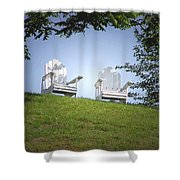 Lonely Companions Shower Curtain