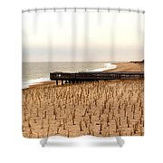 Lonely Dune Shower Curtain
