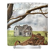 Lonely Farm Shower Curtain