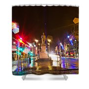 Lonely Ghosts Shower Curtain