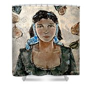 Lonely Girl Lg1 Shower Curtain