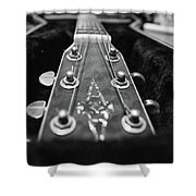 Lonely Guitar Shower Curtain