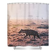 Lonely Hunter Shower Curtain
