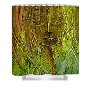 Lonely Lady Shower Curtain