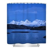Lonely Lighthouse Shower Curtain