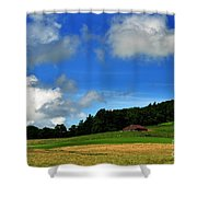 Lonely Meadow Shower Curtain