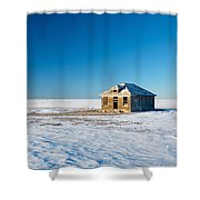 Lonely Place Shower Curtain
