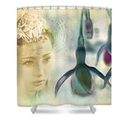 Lonely Princess Shower Curtain
