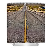 Lonely Road #2 Shower Curtain