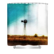 Lonely Skies Shower Curtain