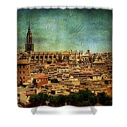 Lonely Spire Shower Curtain