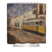 Lonelytram Shower Curtain