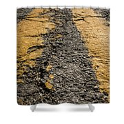 Lonesome Highway Shower Curtain