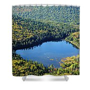 Lonesome Lake - White Mountains New Hampshire Usa Shower Curtain