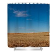 Lonesome Schoolhouse Shower Curtain