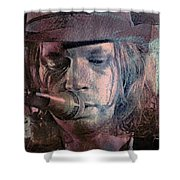 Lonesome Tears Shower Curtain