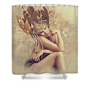 Lonesome Thoughts Shower Curtain