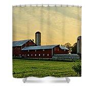 Long Barn Shower Curtain
