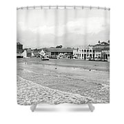Long Beach California C. 1910 Shower Curtain