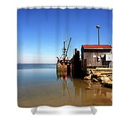 Long Beach Island Bay Shower Curtain