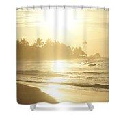 Long Beach Kogalla Shower Curtain
