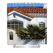 Long Beach Number 3 Shower Curtain
