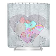 Long Day  Shower Curtain