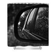 Long Drive Shower Curtain