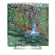 Long Exposure Waterfall Shower Curtain