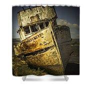 Long Forgotten Boat Shower Curtain