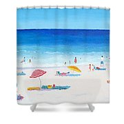 Long Hot Summer Shower Curtain