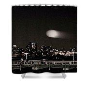 Long Island City, Ny. Shower Curtain