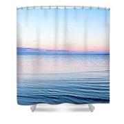 Long Island Sunset Shower Curtain