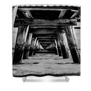 Long Jetty Shower Curtain