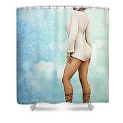 Long Legs Shower Curtain