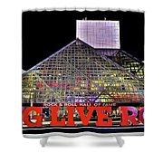 Long Live Rock Shower Curtain