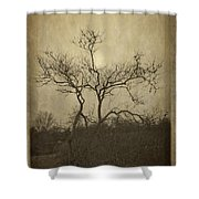 Long Pasture Wildlife Perserve. Shower Curtain