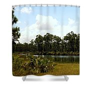 Long Pine Key Shower Curtain