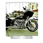 Long Pipes Shower Curtain