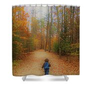 Heading For Heaven Shower Curtain