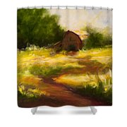 Long Road Home Shower Curtain