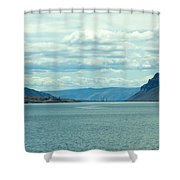 Long Shot Shower Curtain